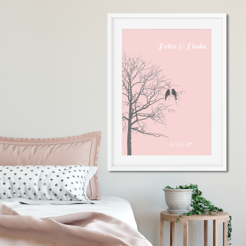 Love Birds Tree Print