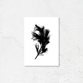 Minimilist leaf print