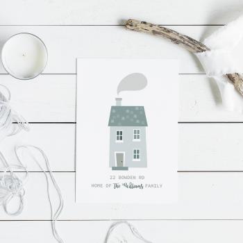 Family Home Print