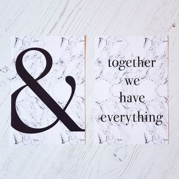 And together we have everything prints