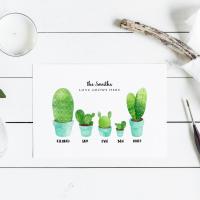 Cactus Family Print