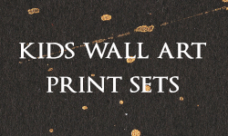 Kids Wall Art Print Sets