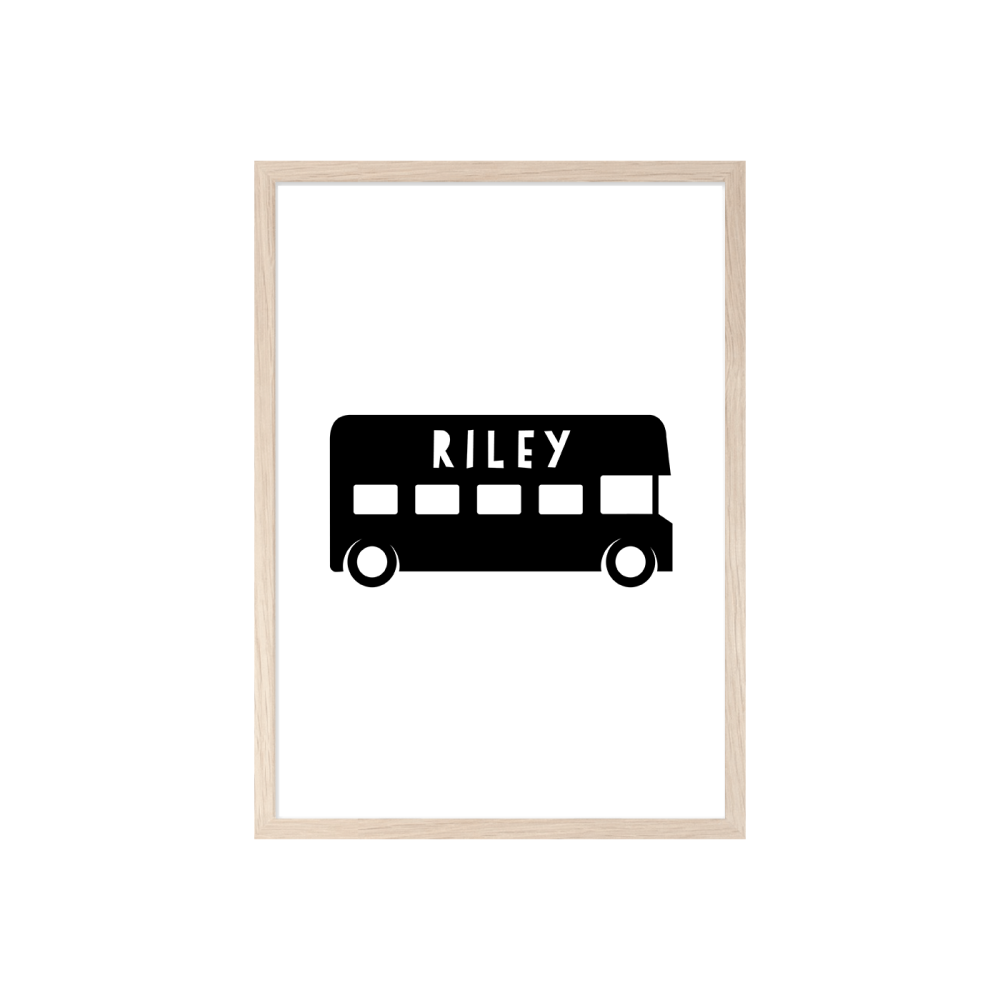 Boys Bus print