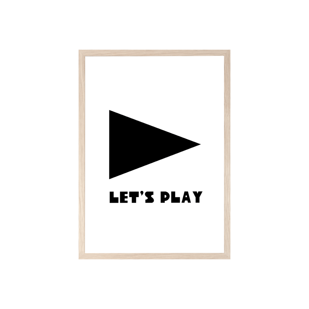 Let's Play print