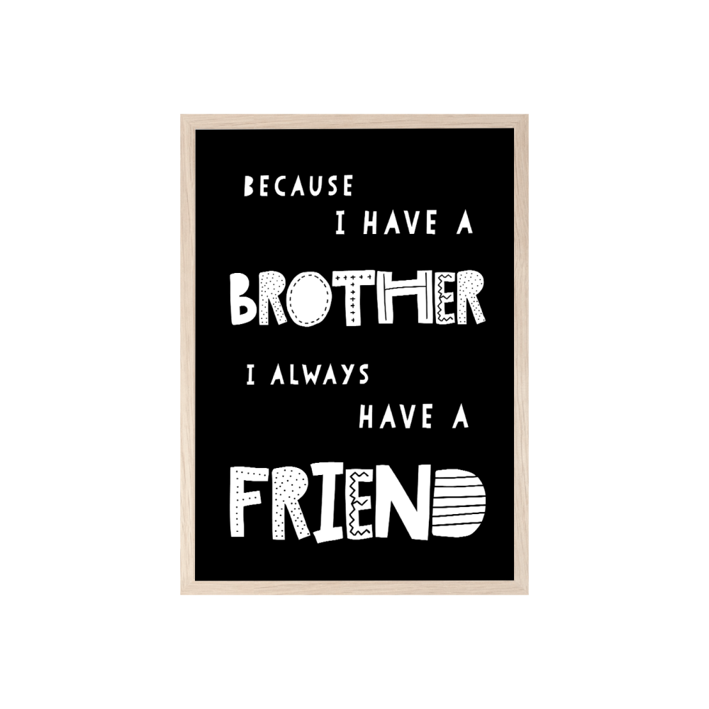 Because I have a brother print