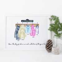Personalised Family Coats 2 print