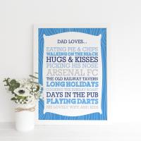 Daddy Loves Print