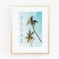 Relax Palm print