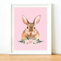 Bunny Rabbit Watercolour print