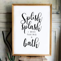 Splish Splash Print