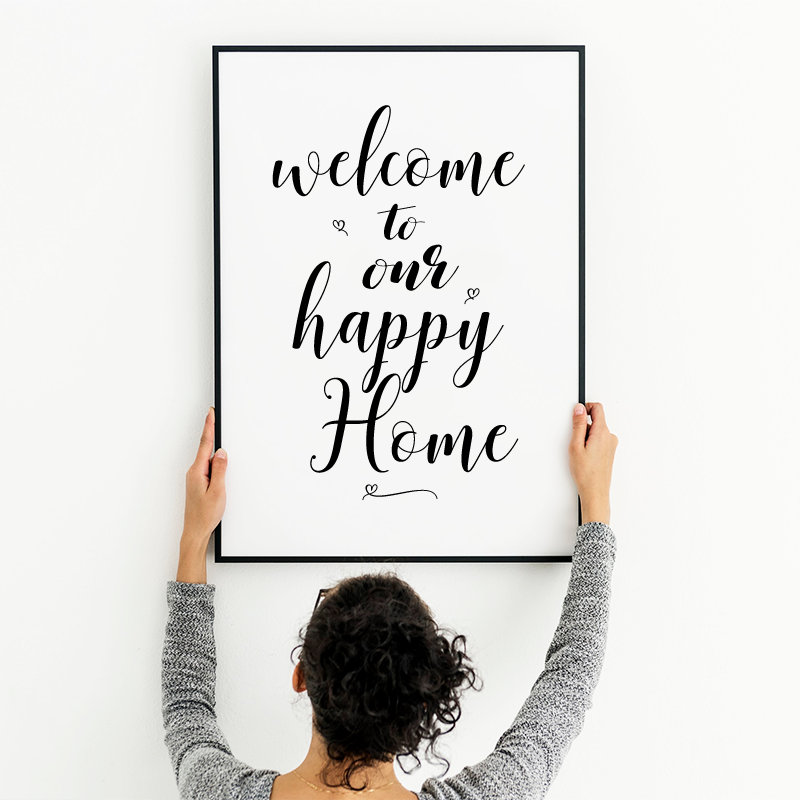 Welcome to our Happy Home Print