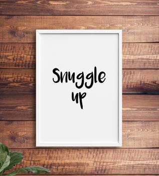 Snuggle Up Print