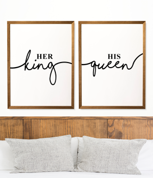 Her King, His Queen Prints