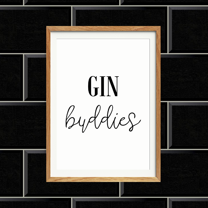 Gin Buddies Print