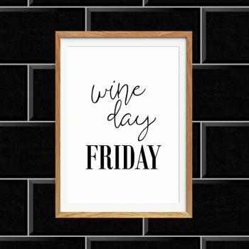 Wine Day Print