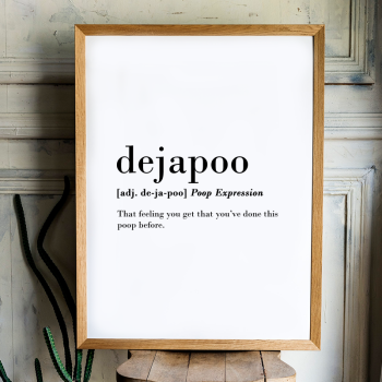 Dejapoo Print