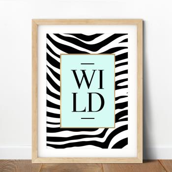 Wild Zebra Print
