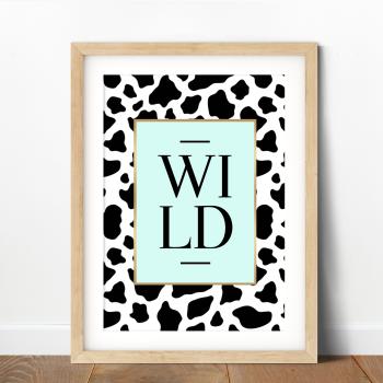 Wild Cow Print