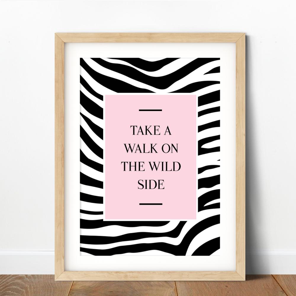 Take a Walk Print