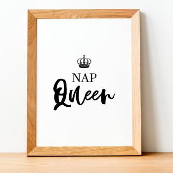 Nap Queen Print