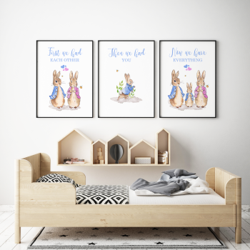 First We Had Each other Peter Rabbit Nursery Prints