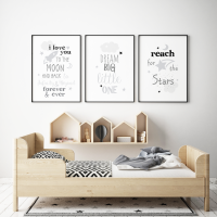 Set of 3 Dream Big Nursery Prints