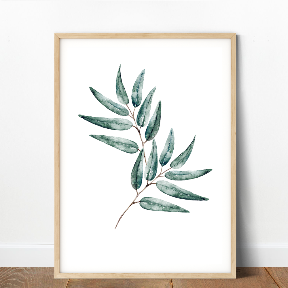 Eucalyptus Leaf Print