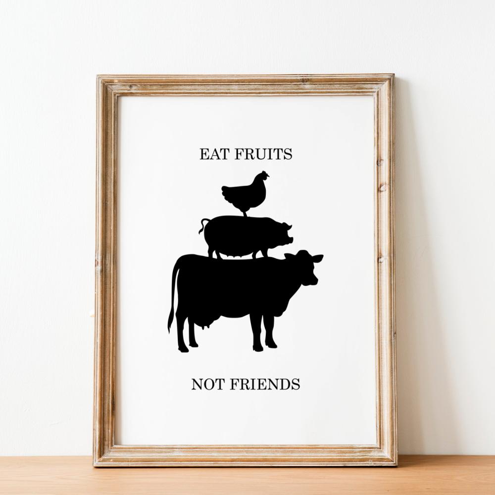 Eat Fruits Print