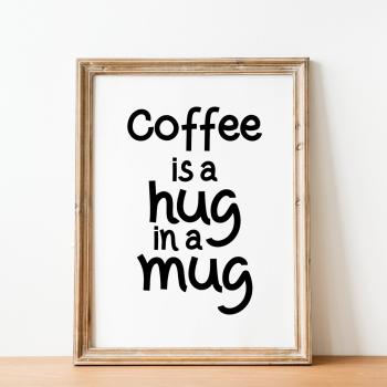 Hug in a Mug Print