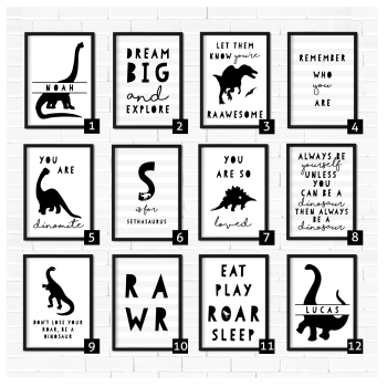 Dinosaur Art Prints