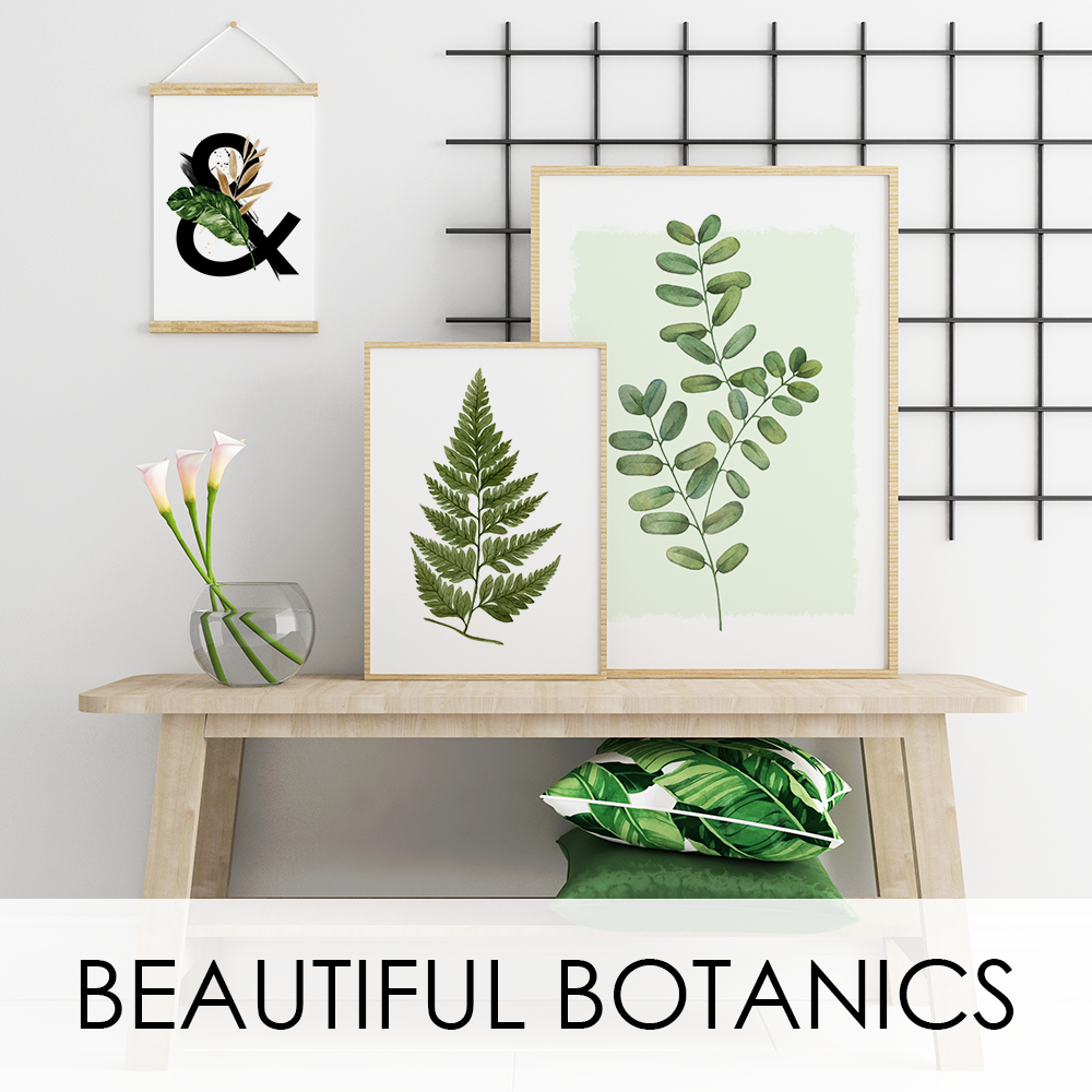 BOLD BOTANICAL PRINTS