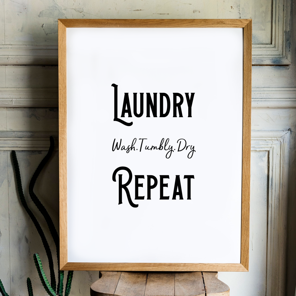 Wash Tumble Dry