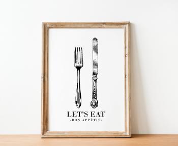 Let's Eat Bon Appetit