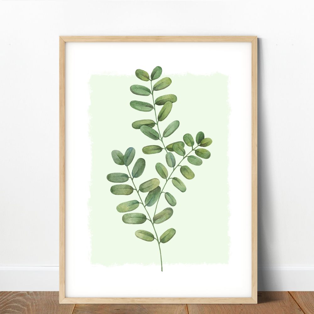 Moringa Leaf Print