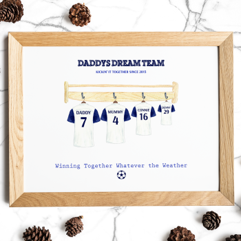 Dream Team Football Print