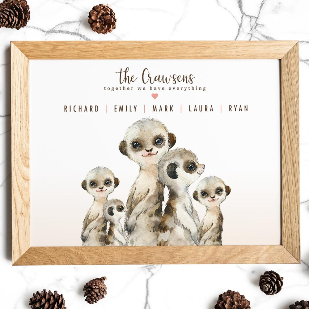 Meerkat Family Gift