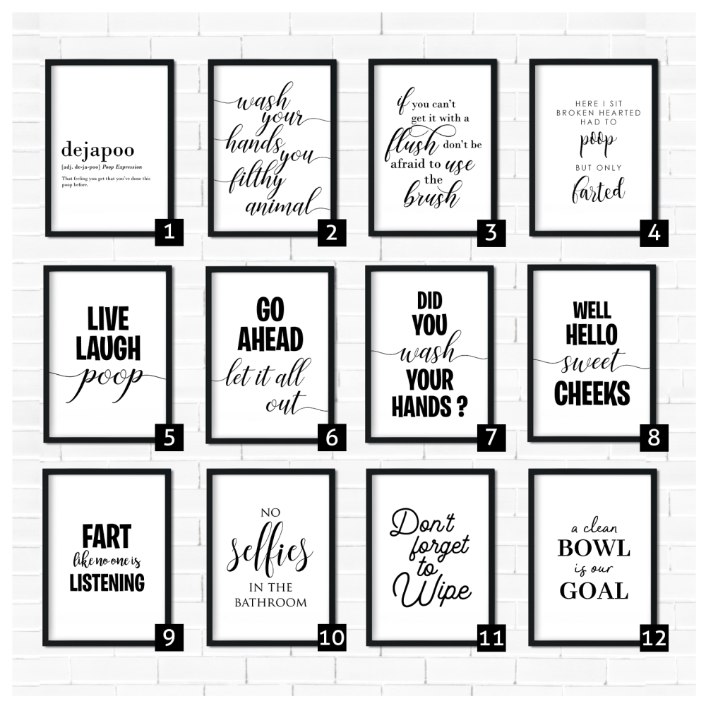 Bathroom Art prints