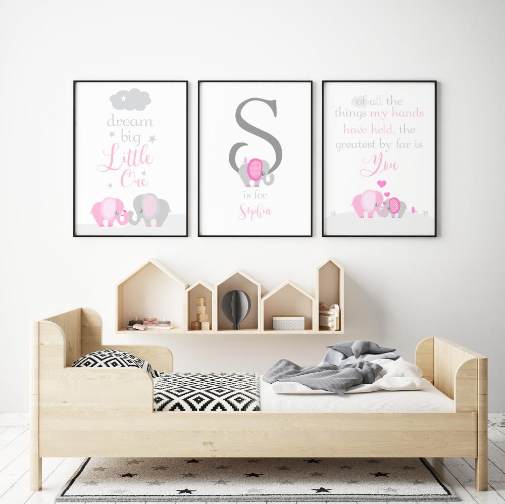 Dream Big Little One Pink Set