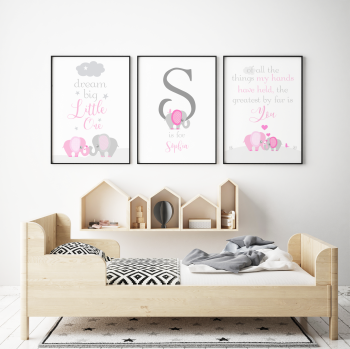 Dream Big Little One Pink Set