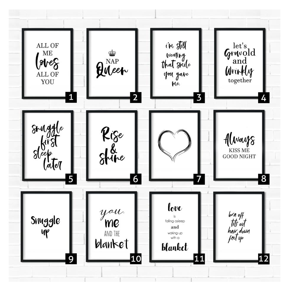 Bedroom Quotes
