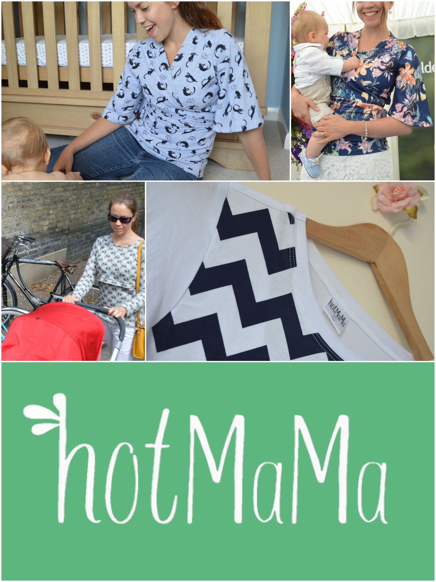 Breastfeeding Clothes - Mixed products Images collage
