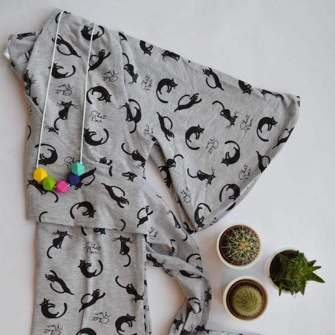 <!-- 002 -->Kimono Style Breastfeeding Tops