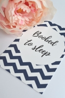 Breastfeeding Milestone Cards - Navy Chevron Print