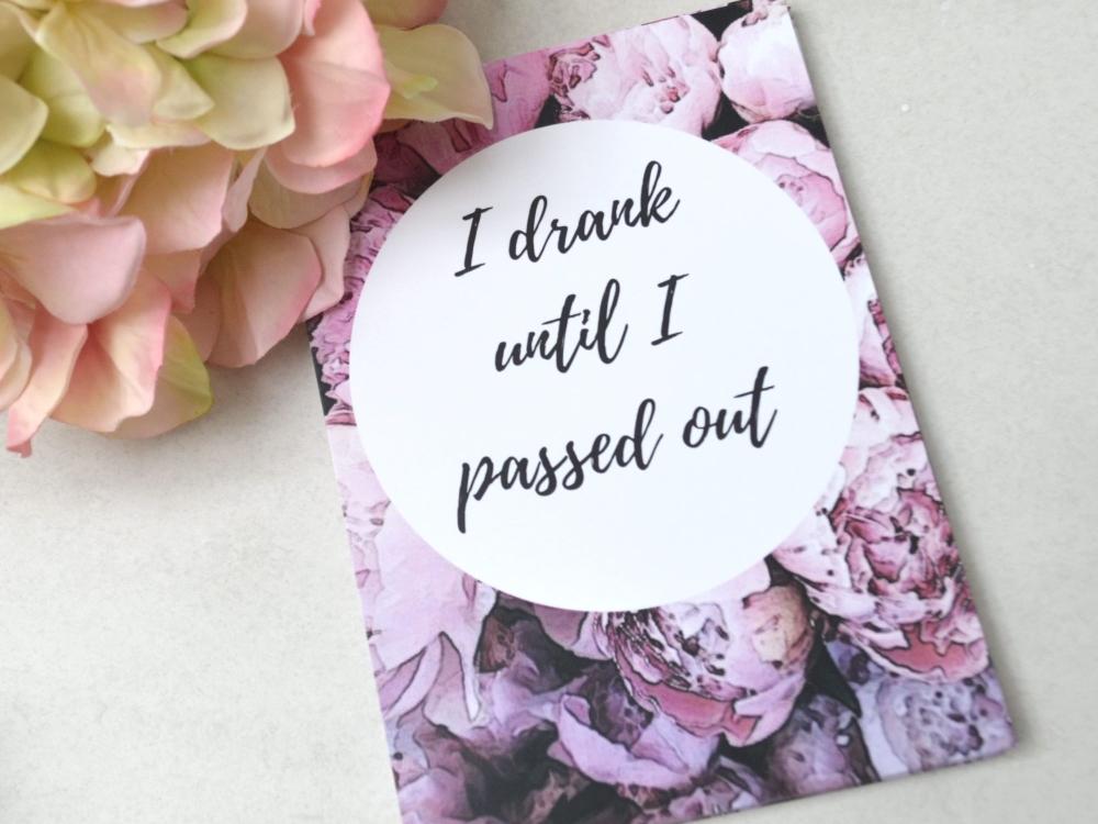 Breastfeeding Milestone Cards - Pink Floral Print