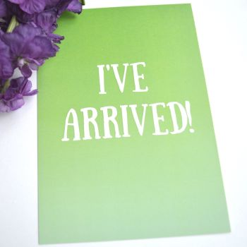 Funny Milestone Cards - Green and Blue Ombre