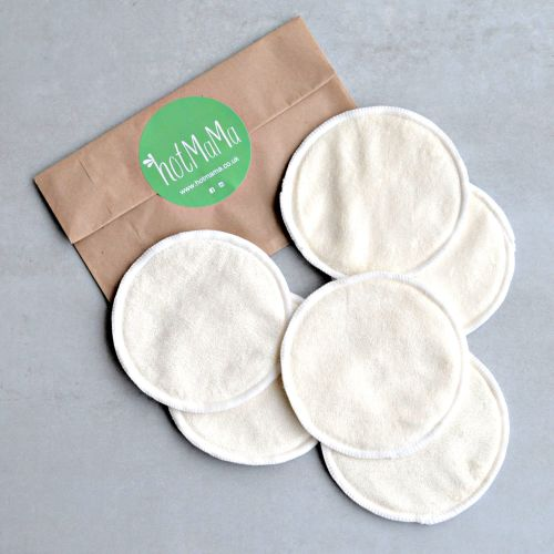 Reusable Bamboo Breast Pads - 3 Pairs
