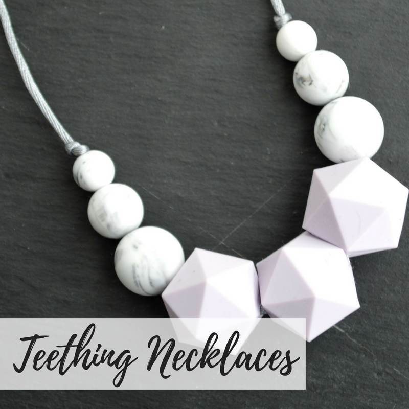 teething necklaces, fiddle necklaces, breastfeeding necklaces,