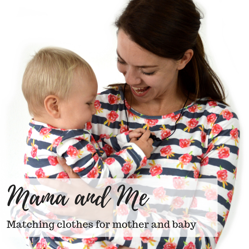 Matching Mother and Baby Clothes, Matching mummy and baby clothes, Mathing mother and baby breastfeeding clothes, Nursing clothes,