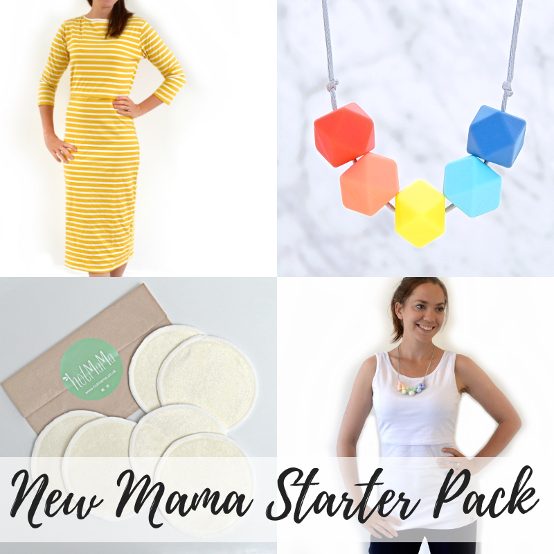 <!-- 201 -->Breastfeeding Mama Starter Pack - Brights, Breastfeeding Dress,