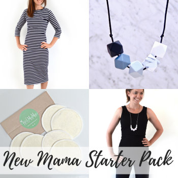 Breastfeeding Mama Starter Pack - Monochrome
